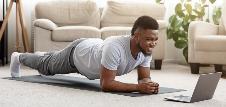 How To Exercise At Home During The Coronavirus Pandemic