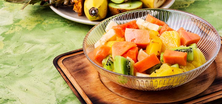 Papaya Fruit Salad