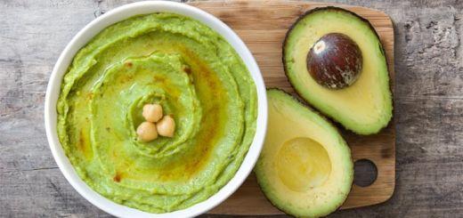 Spicy Cilantro Avocado Hummus