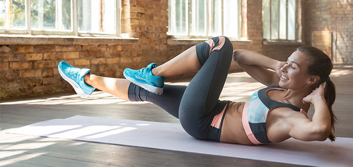 Melt Away Your Muffin Top With These 6 Exercises