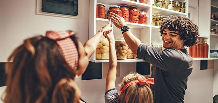 Keep Your Kitchen Organized During COVID-19 With These Simple Tips