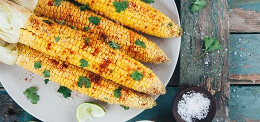 Chili Lime Grilled Corn On The Cob
