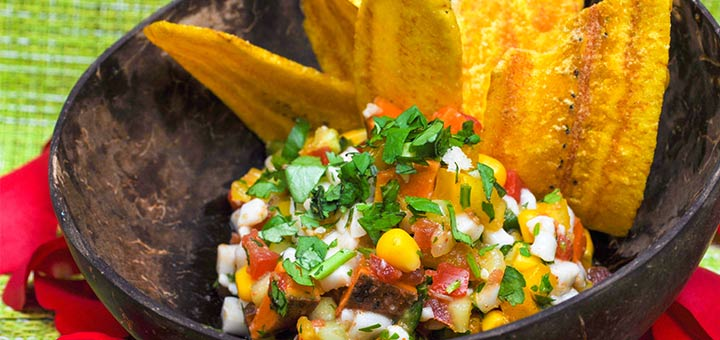 Plant-Based Ceviche With Jicama And Corn