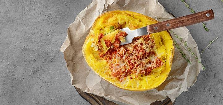 Sun-Dried Tomato Spaghetti Squash Bowls