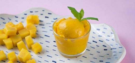 Mango Lime Sorbet