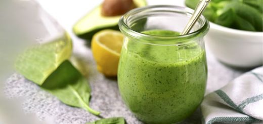 Raw Vegan Cashew Dressing With Fresh Herbs