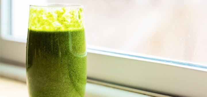 Kale Smoothie That Tastes Like A Milkshake