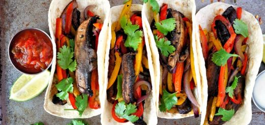 Portobello Fajitas Ready In 30 Minutes