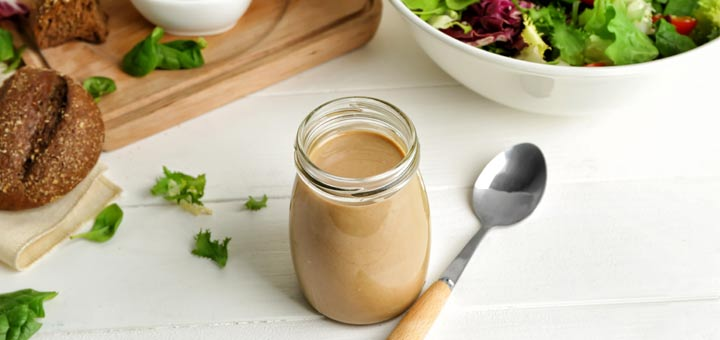 Tahini Ginger Salad Dressing