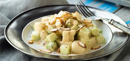 Pear Jicama And Cucumber Salad