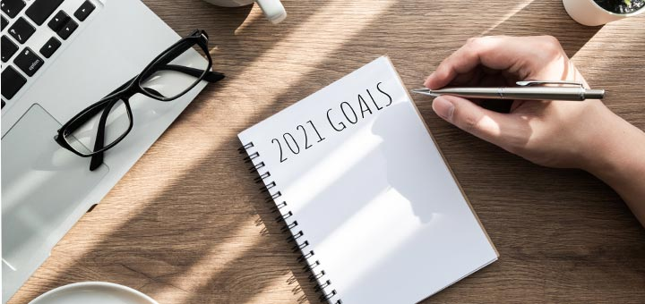 The Top 10 New Year's Resolutions People Are Making For 2021