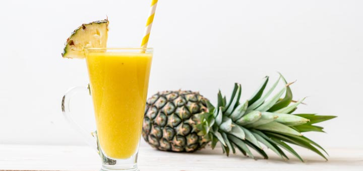 Pineapple Ginger Smoothie To Boost Immunity