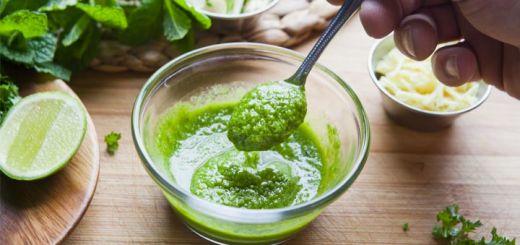 Spicy Peruvian Green Sauce