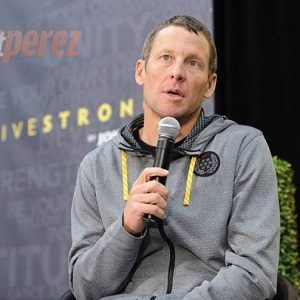 Athlete Lance Armstrong