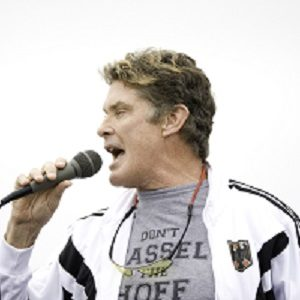Hostsinger David Hasselhoff