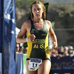 Celebrated Athletes Juliana Bahr-Thomson (Triathlete)