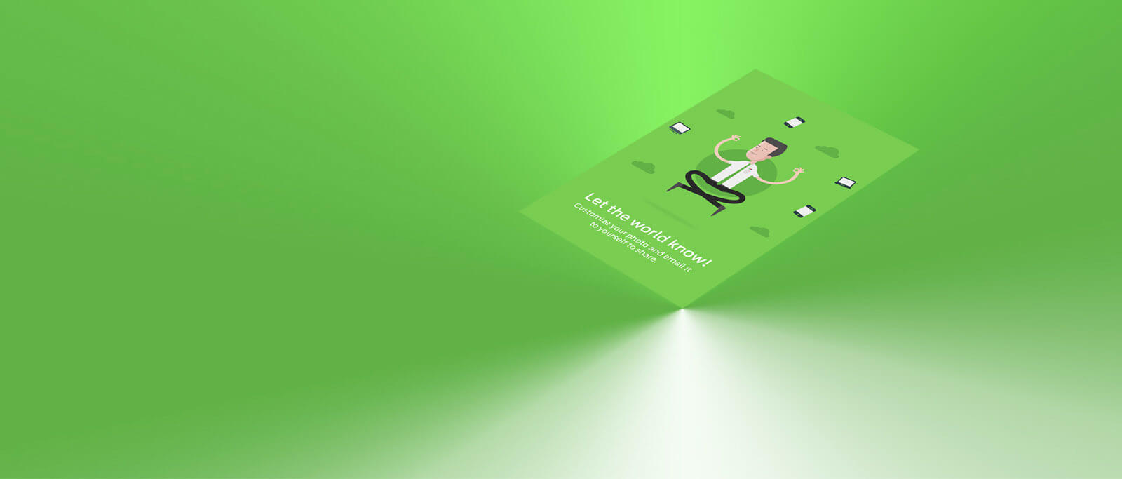 Duo case study image on floating card
