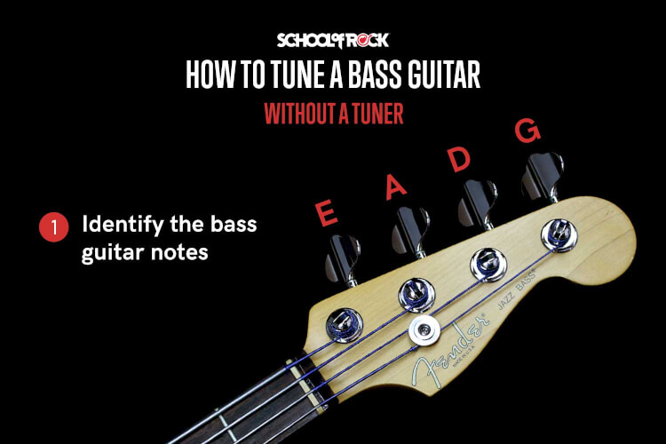 School Of Rock Beginner S Guide To Tuning A Bass Guitar