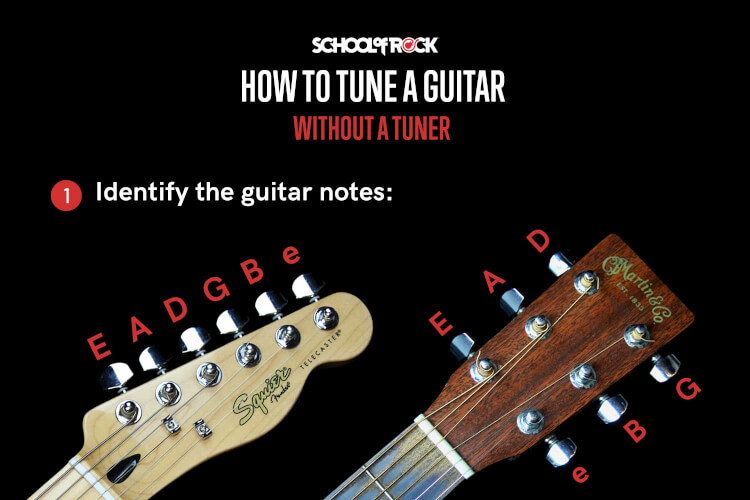 School Of Rock Beginner S Guide To Tuning A Guitar
