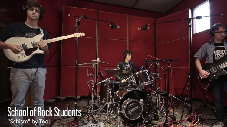 Schism by Tool performed by School of Rock students