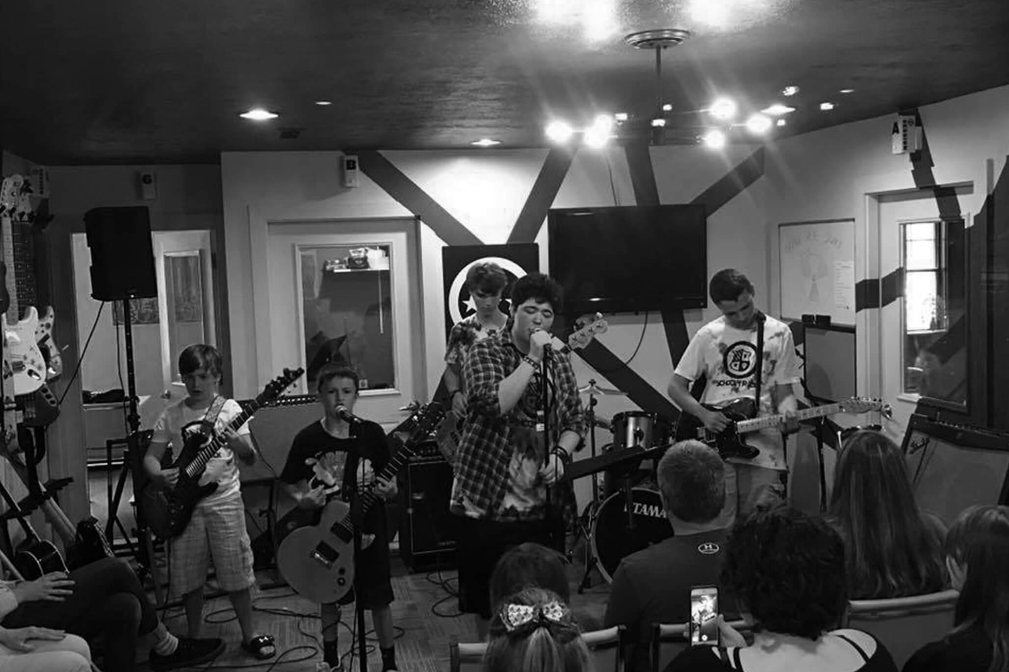 Performance Camp - Rock and Roll Boot Camp July 8-12, 2018 Ages 12-17