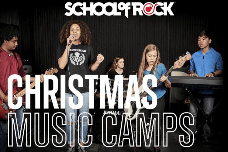 Christmas Rocks Music Camp