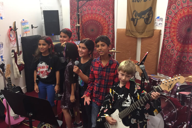 Rock 101 Summer Camps (Ages 8-11)