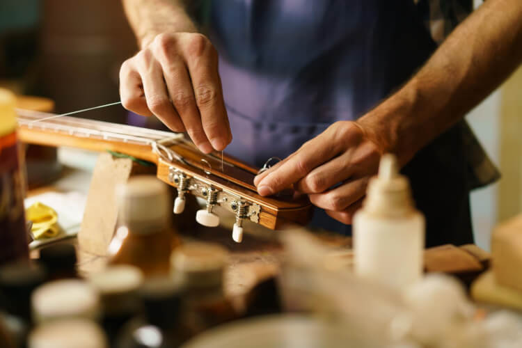 MEA Guitar Maintenance Workshop - Thursday