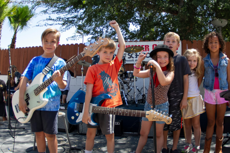 Rookies Rock Camp