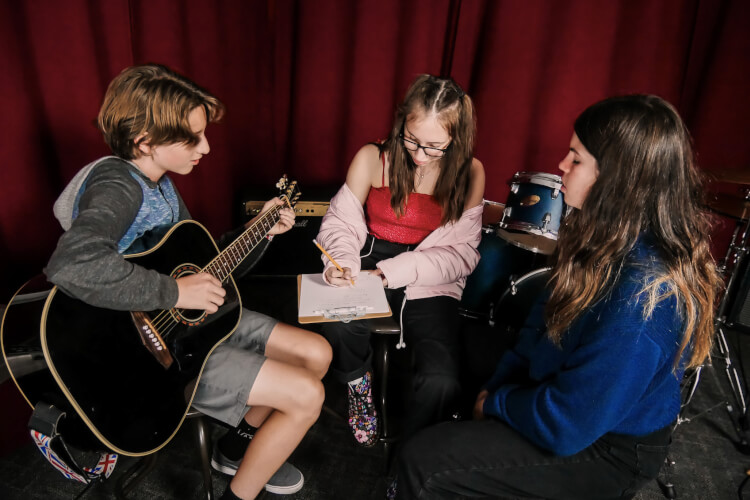 Summer Camp Songwriting