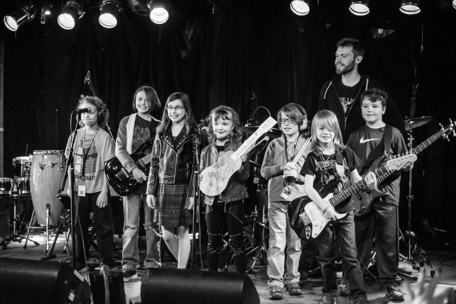 Rock Immersion Camps take the stage