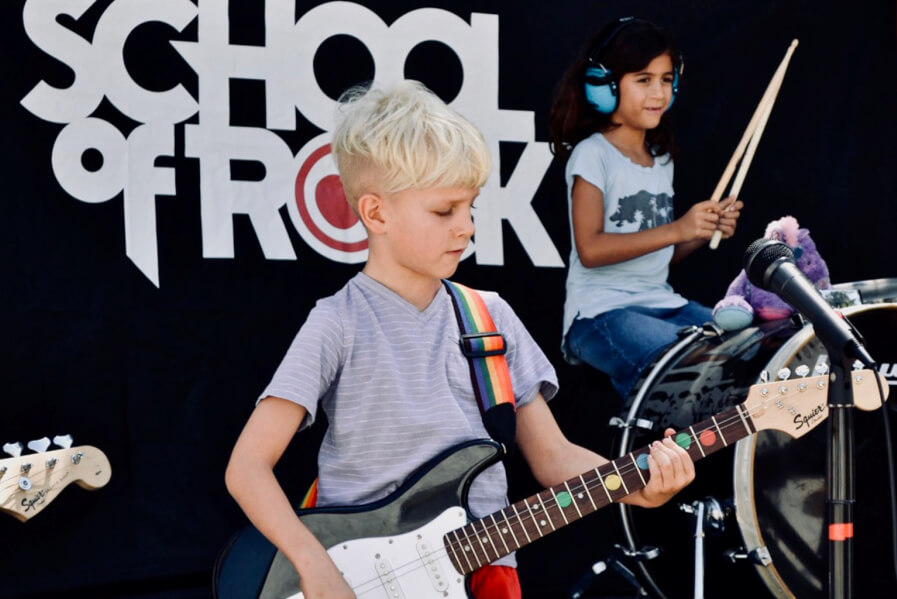 young rockers, young musicians, young guitarist, singer, young drummer, Rookies camp, half day camp, summer camp for little kids, summer camp for toddlers