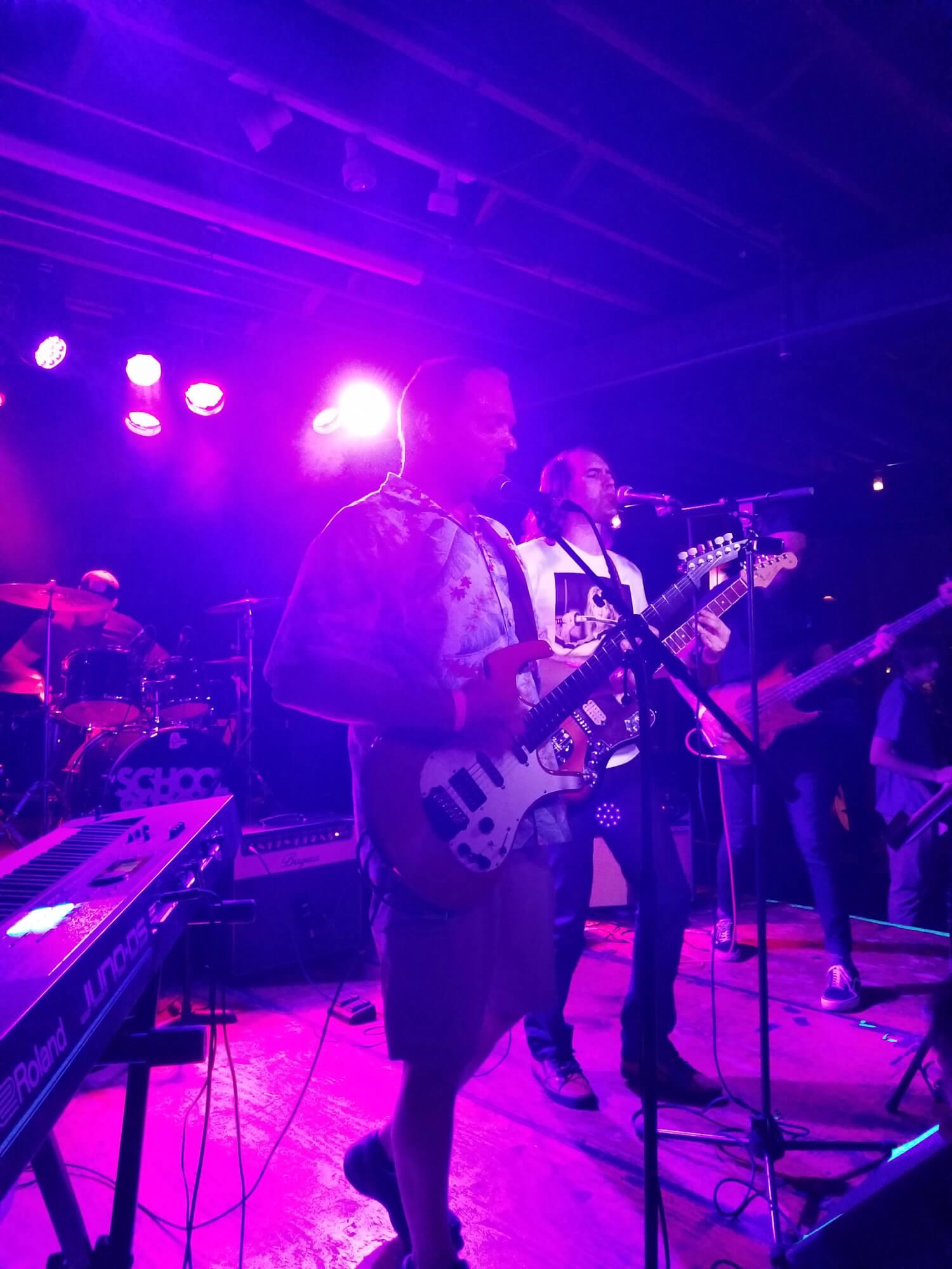 Grad School performing.