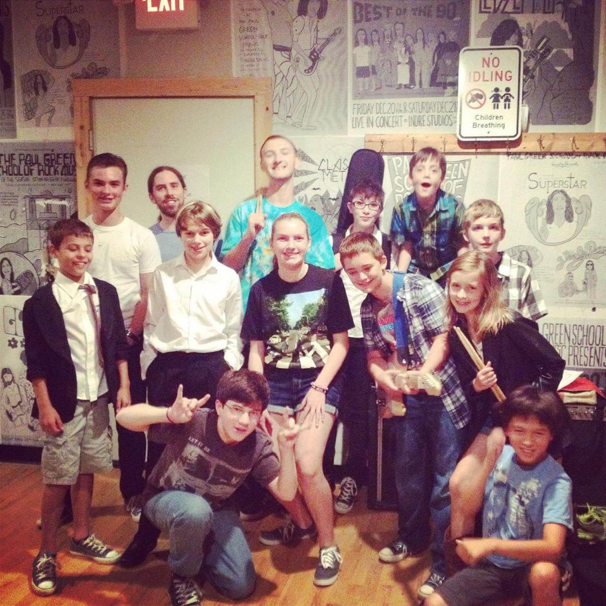 School of Rock Doylestown is a community. Our students don't just take music lessons, they make like-minded friends.