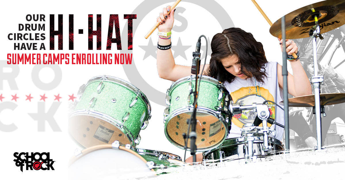 School of Rock Summer Camps give kids the opportunity to rock on the instrument of their choice and make summer memories that are electrifying.