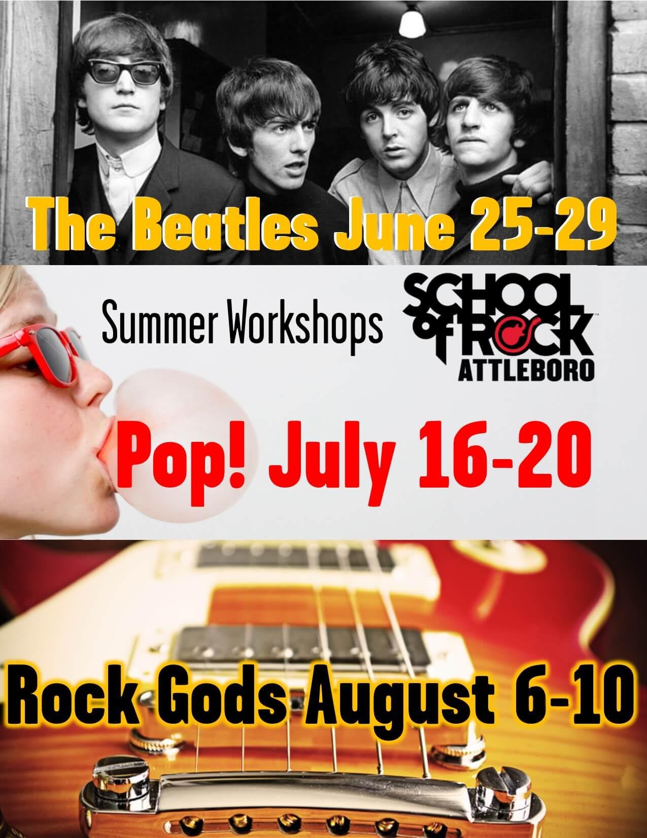 Summer Workshops, enrolling now!