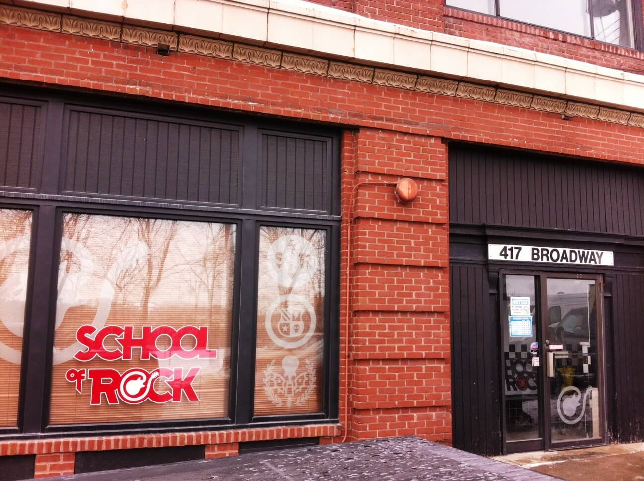 School of Rock St Paul is located in the Historic Allen Building in Lowertown.