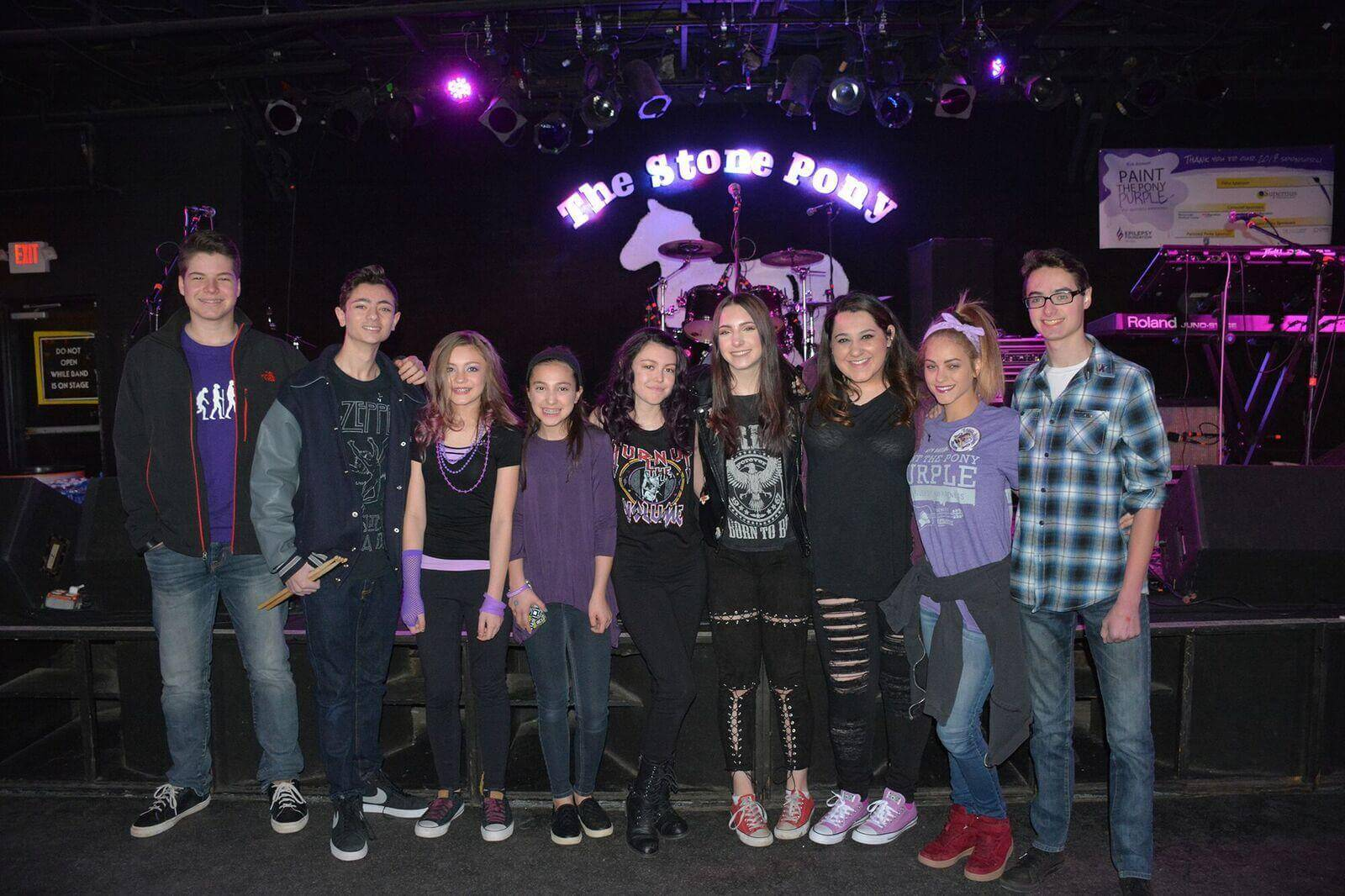 Marlboro School of Rock Future All Star Band at The Stone Pony