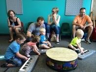 School of Rock Preschool Music Program for Ages 2-3 Includes