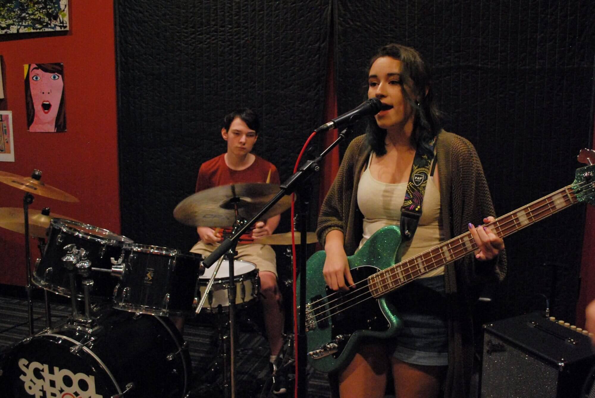 The House Band runs through their set during a recent rehearsal.