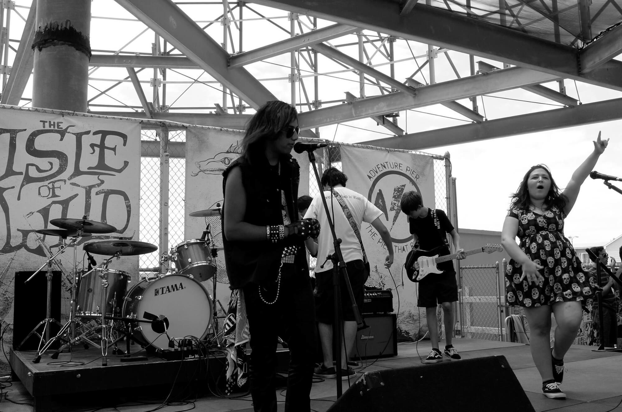 Our House Band went on tour this summer and play Wildwoods, NJ