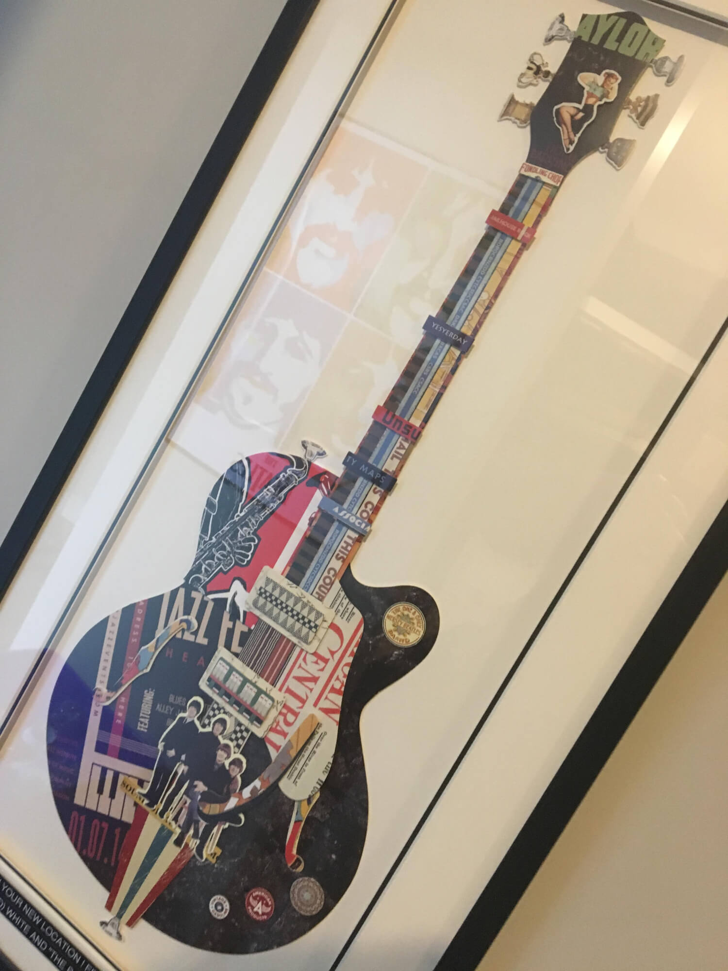 School of Rock Calgary South: we have great artwork on the walls