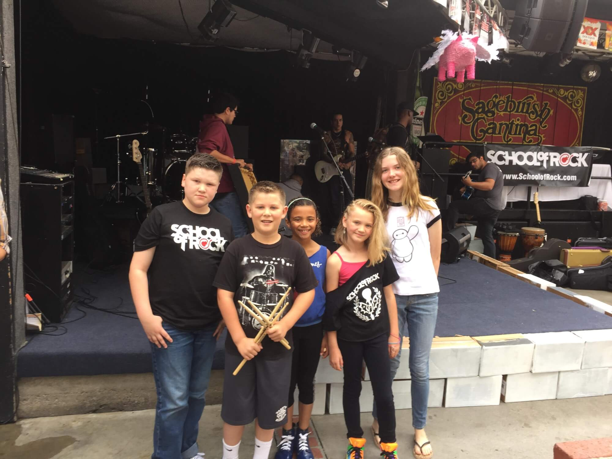 Rock  101 Students - Sagebrush Cantina MAY 2015