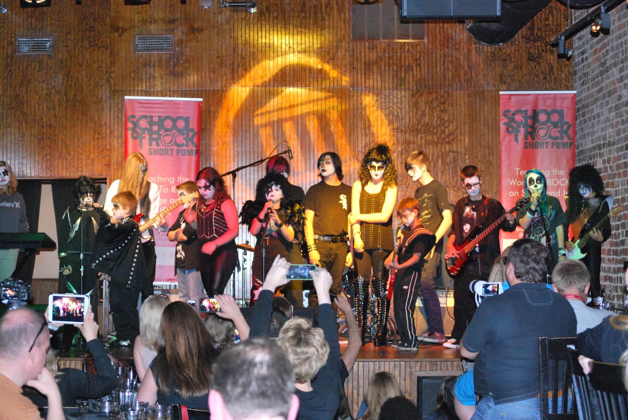 KISS concert-end of season show