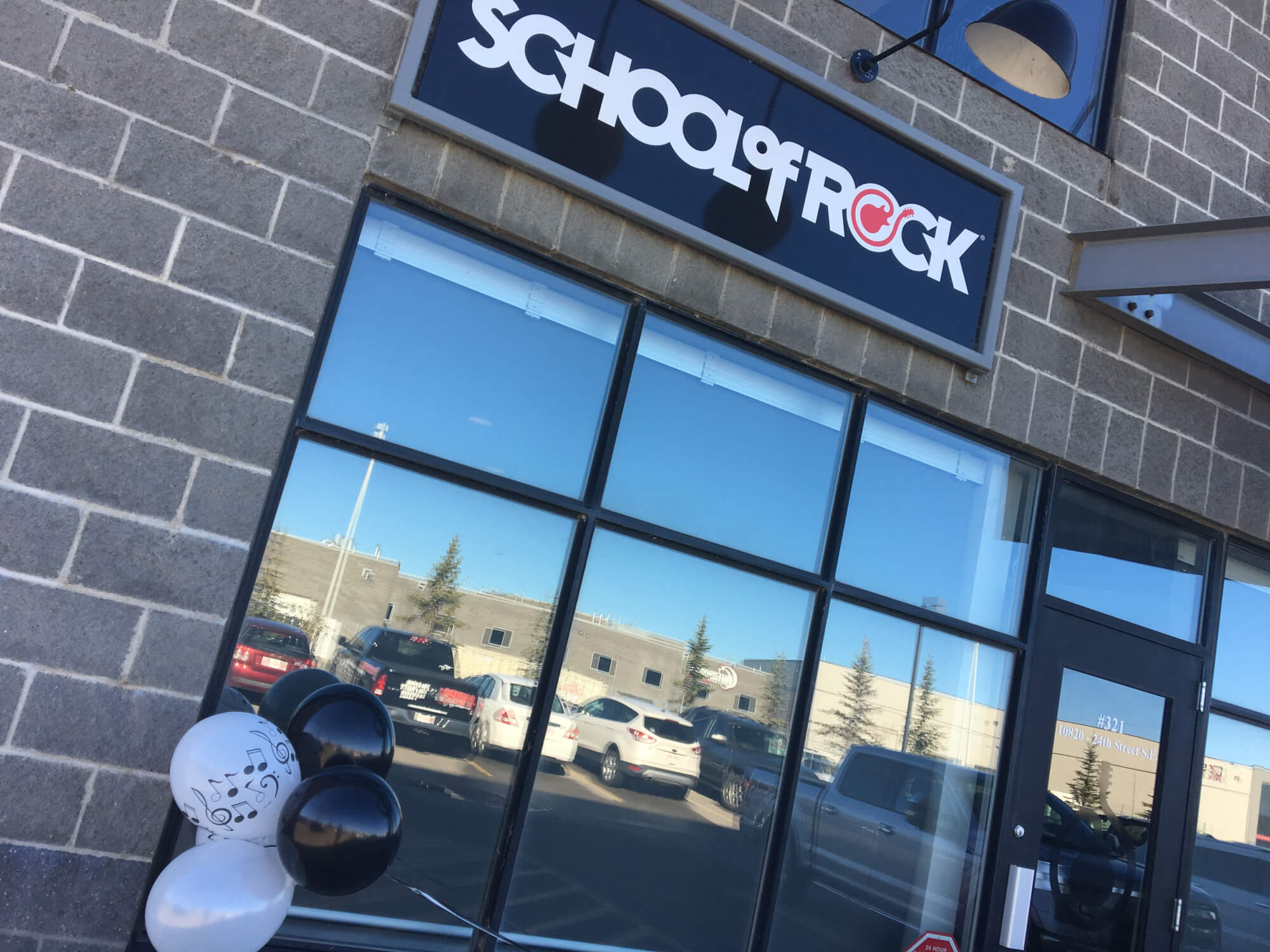 School of Rock Calgary South! Opened October 2017! Come on in and check us out :)