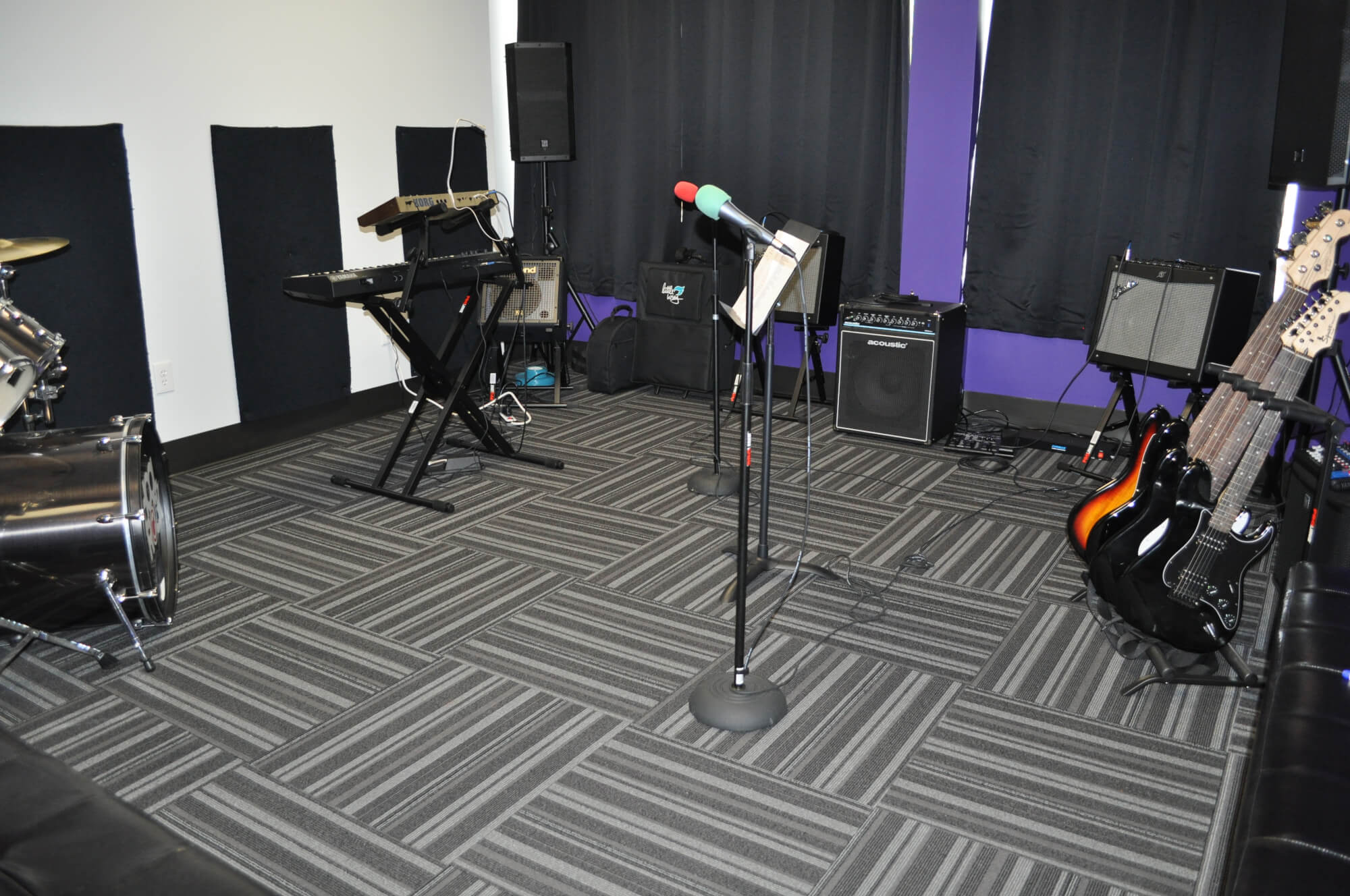 Professional grade studio and gear