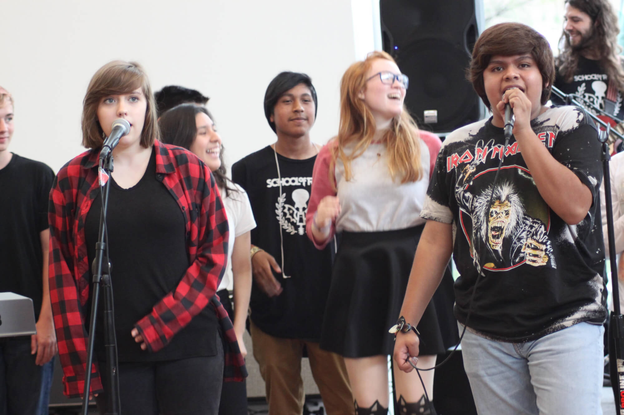 School of Rock Cypress Students Rocking Live onstage!