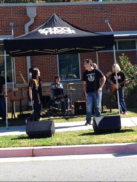 October 26, 2014 Bells Ferry PTA Fundraiser House Band is rockin'!