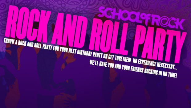 Rockin' Parties for all ages & occasions. Venue capacity 125 people.