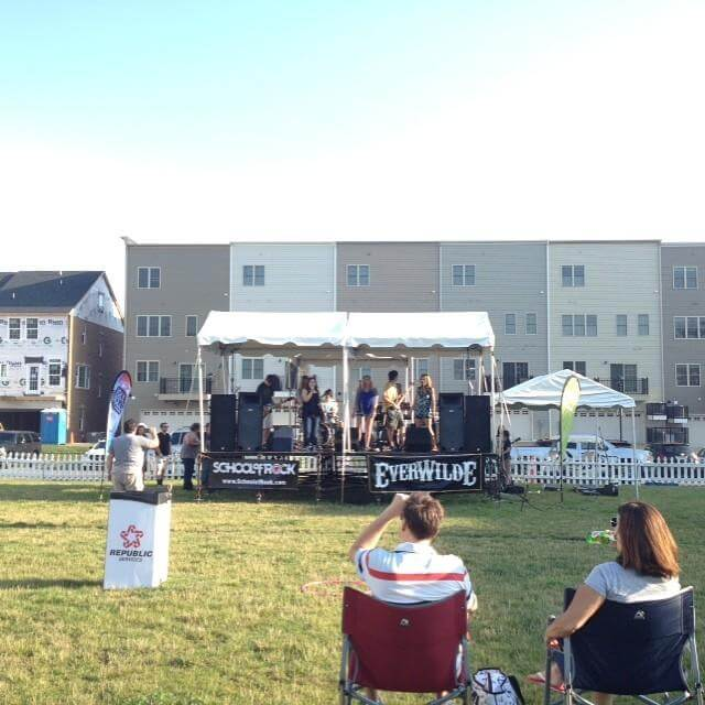 House Band Plays Rock and Roll Summer Concert series at West Broad Village